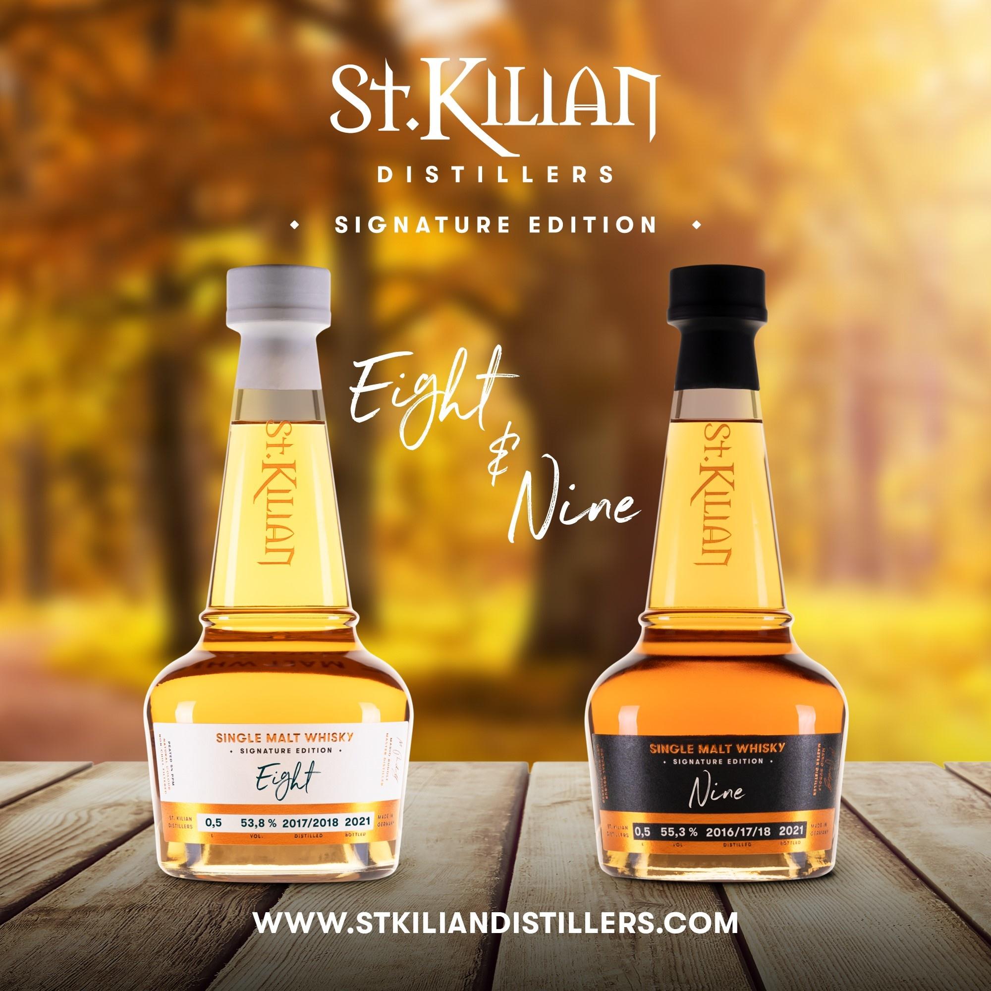St. Kilian stellt Signature Edition Eight & Nine vor