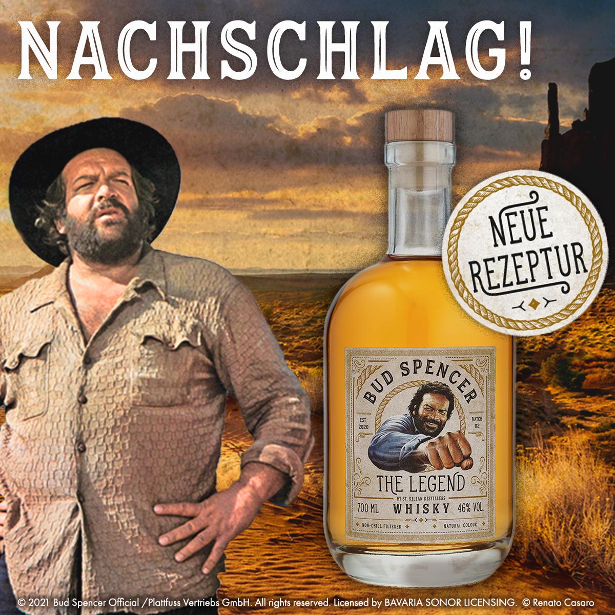 Bud Spencer Whisky mit neuer Rezeptur