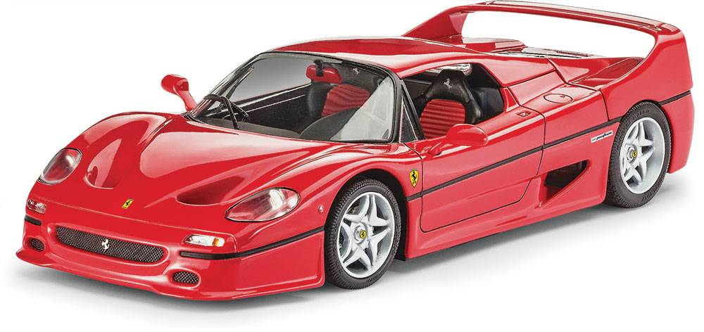 Revell SCALE MODEL PLASTIC REVELL 1/24 Ferrari F50