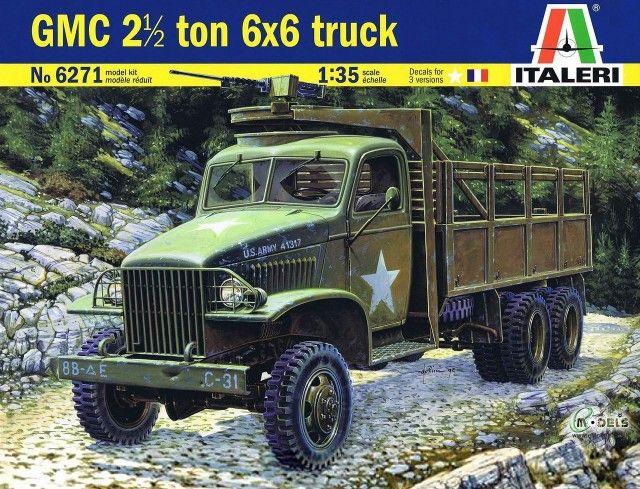 Italeri ITALERI véhicules militaires 1,5TON6X6 CARGO CAMION WC62