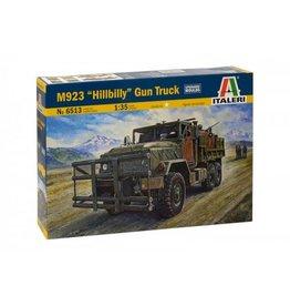 """Italeri ITALERI véhicules militaires M923 """" HILLBILLY """" GUN CAMION"""