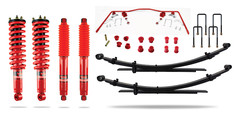 Pedders Suspension Isuzu D Max 2012-on 4WD Lift Kit 2 inch 1.9 model