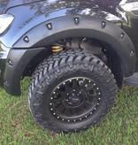 Kut Snake  Spatbordverbreders voor Ford Ranger PX - 55 mm breed (2011-nu)