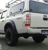 Kut Snake  Spatbordverbreders voor Ford Ranger PJ/PK - 55 mm breed (2007-2012)
