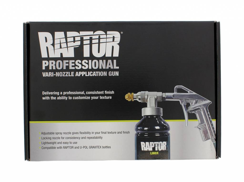 Raptor Liner VARI-NOZZLE SPRAY GUN