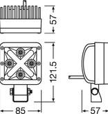 OSRAM OSRAM CUBE-X MX85-SP Spot Straler