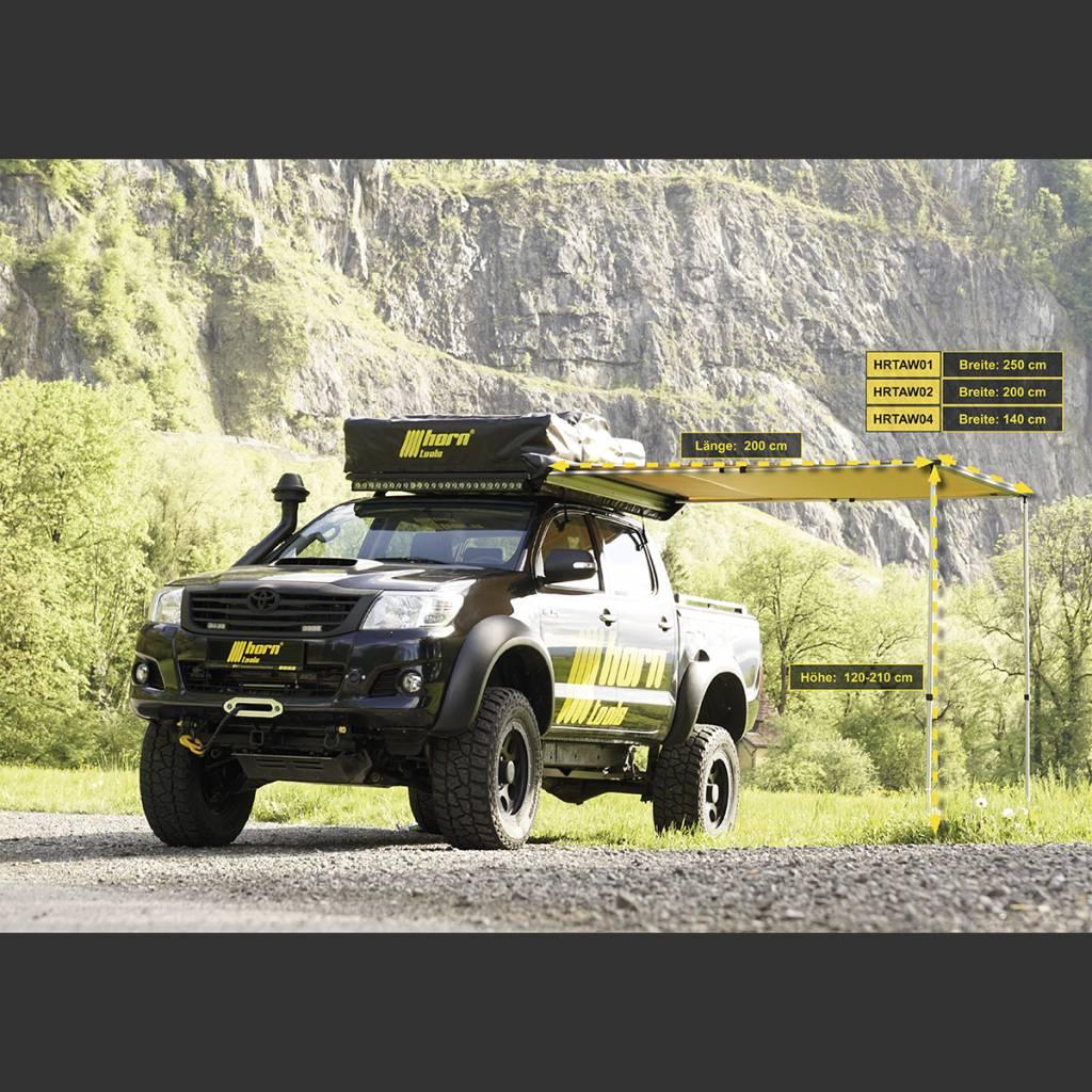 Horntools Luifel Eaglewing 2x2m