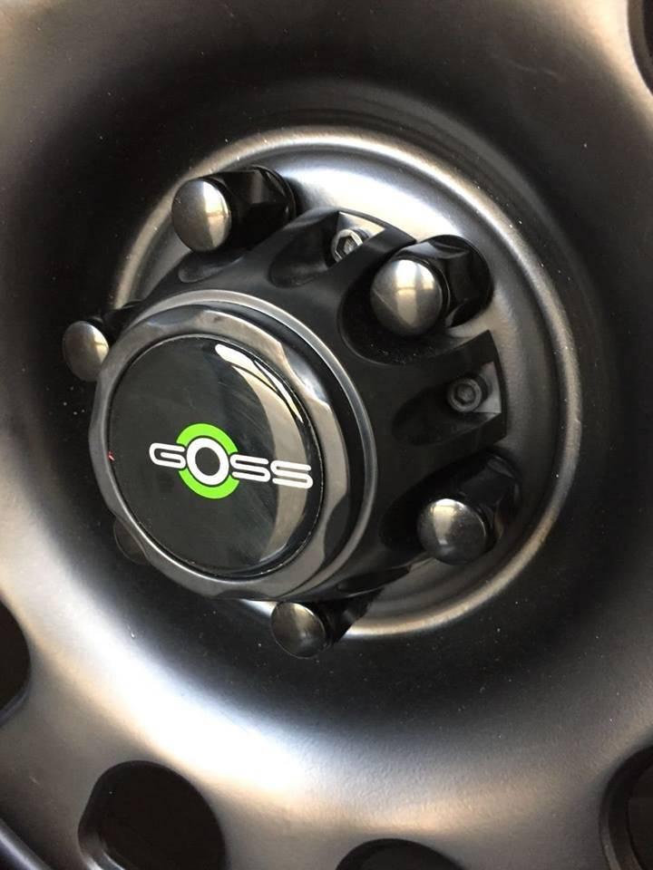 Goss Naafkap Nissan Navara 6x114,3