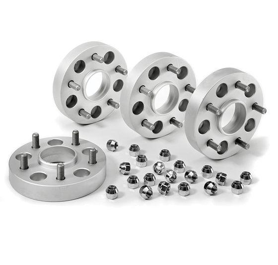 Aluminium Spacers (4 stuks) Nissan Navara 30mm