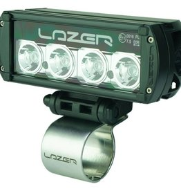 Lazer Horizontal Tube Clamp - 42mm (stainless steel - Lazer branded)