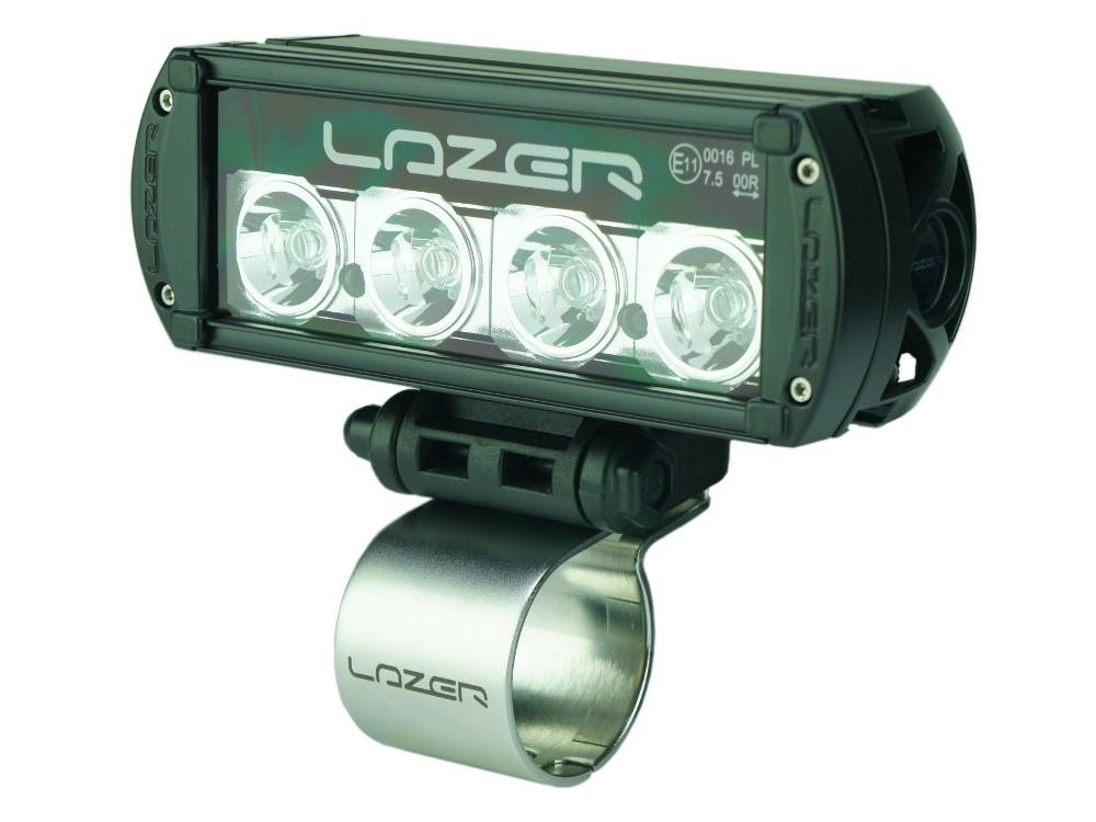 Lazer Horizontal Tube Clamp - 60mm (stainless steel - Lazer branded)