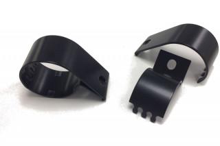 Lazer Horizontal Tube Clamp - 76mm (black - no Lazer branding)