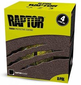 Raptor Liner Raptor 4 Liter Zwart