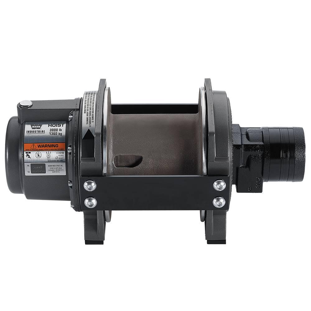 Warn HY 3000 Large Frame Hydraulisch 1360KG 35m / 8mm