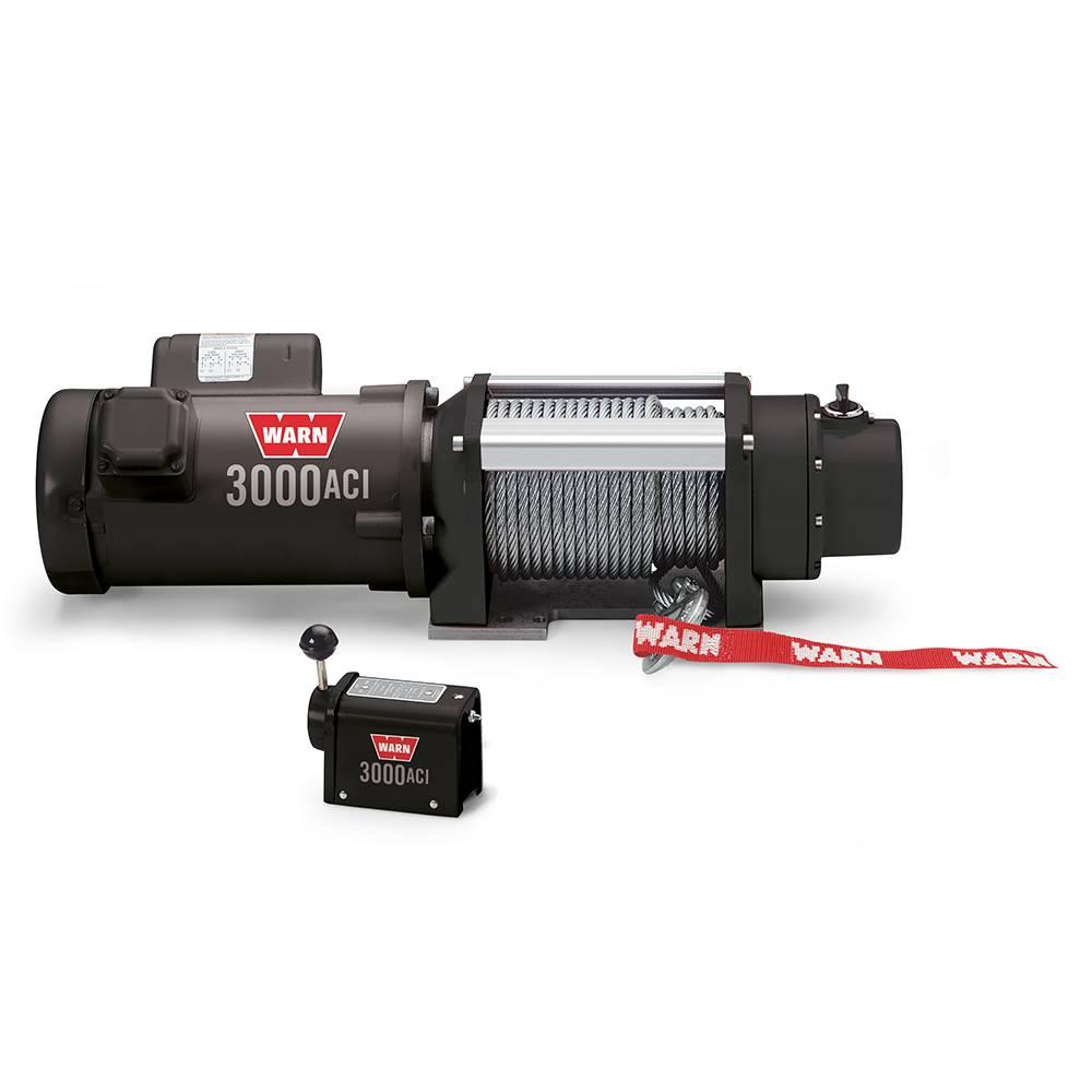 Warn 3000 ACI Utility 1360 KG 30,5m/8mm