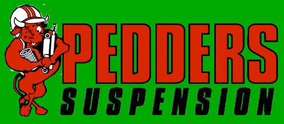 Pedders Suspension 30mm D-polyurethaan bus, voor 38mm high bracket