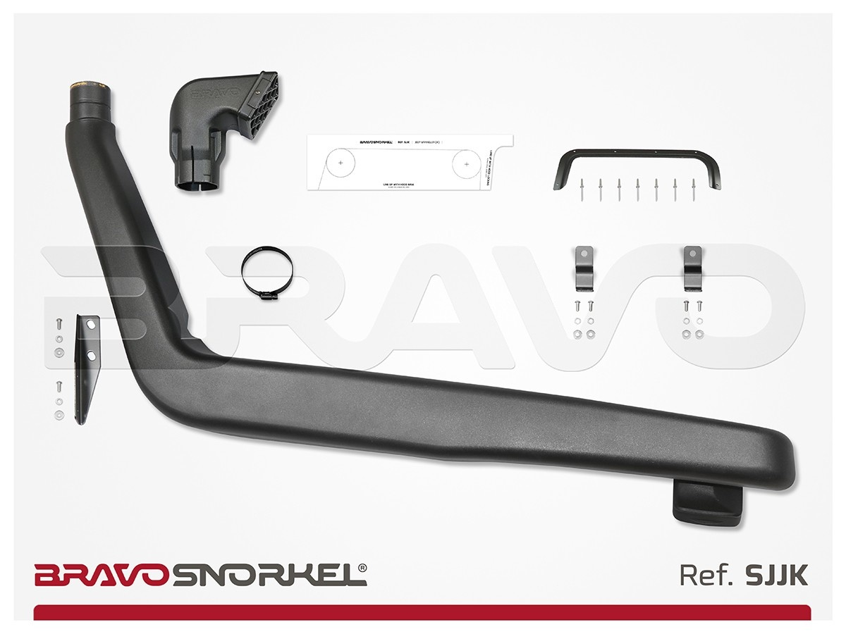 Bravo Snorkel Snorkel Wrangler JK 2.8 D 3.8 V6 Benz. (od 10/06)