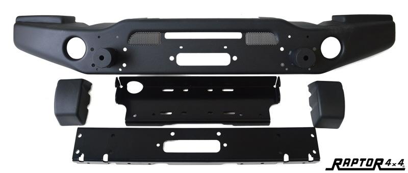 Raptor 4x4 Low Profile Winchbumper Jeep Wrangler (zonder bullbar)