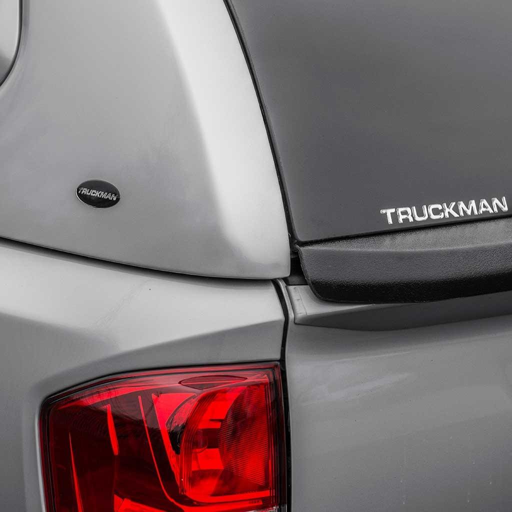 Truckman S-Series Vaste Dubbele Deuren hardtop Nissan NP300 (D23 Navara Navara)