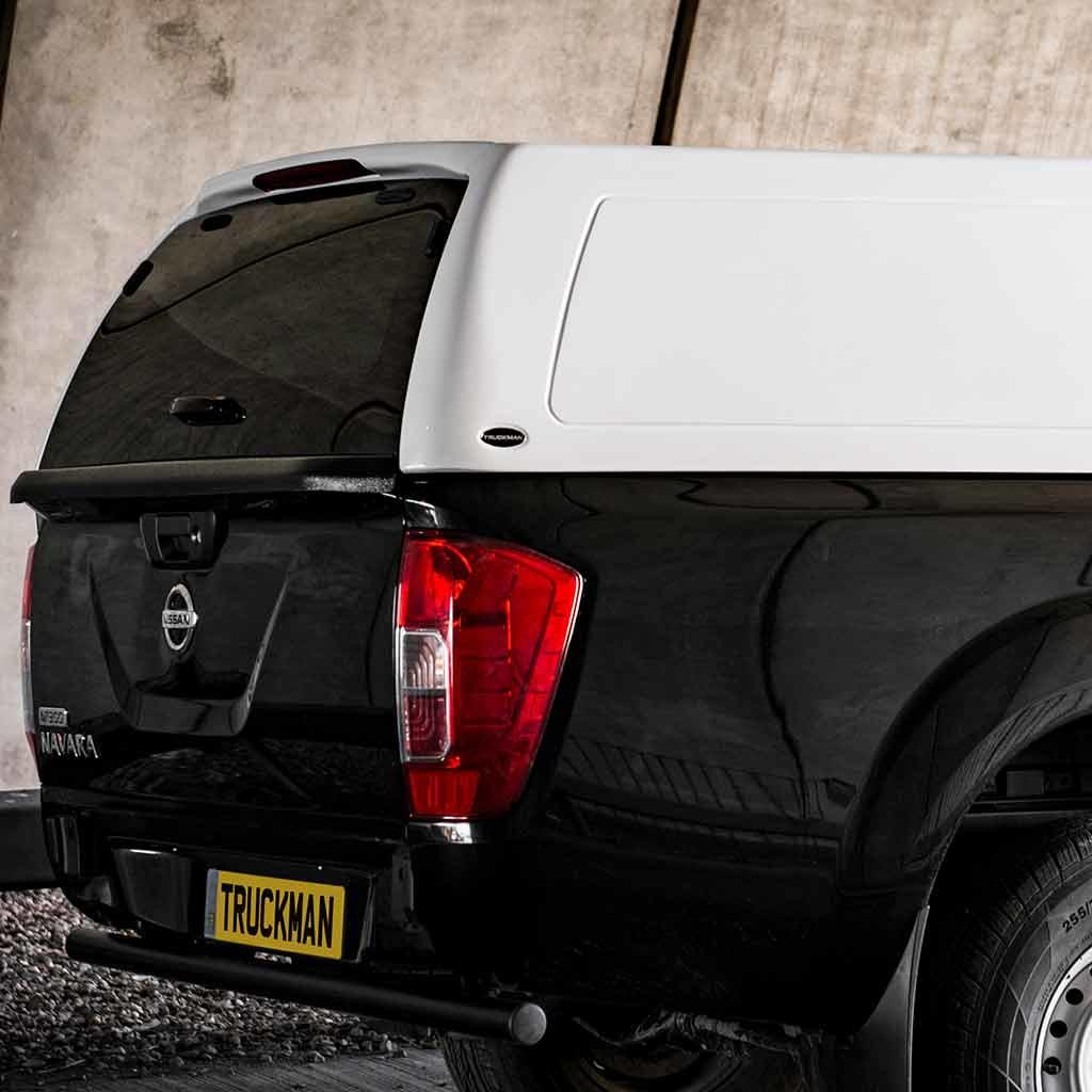 Truckman RS Hardtop Met Glazen Deur NP300 (D23 Navara) (2016 en nieuwer)