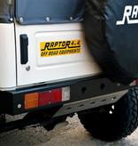 Raptor 4x4 Suzuki Samurai Aluminium Bumper Achterkant