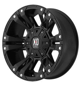 KMC Wheels XD822-M Mat Zwart 9X18 6x135/139.7 ET18 CB106.25