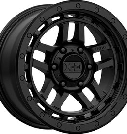 KMC Wheels XD140 Recon Satijn Zwart  8.5X18 6x114.3 ET18 CB66.1