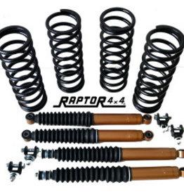 Raptor 4x4 SUSPENSION LIFT KIT +5 CM GOLD DEFENDER 110/130