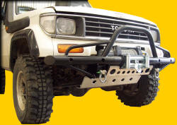 Raptor 4x4 TUBULAR WINCH BUMPER TYPE C FOR TOYOTA KZJ 70 - LJ70