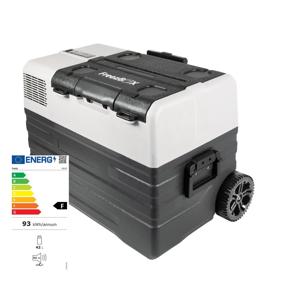 Horntools Koelbox FreezBox 52 L met wielen Compressor koelkast