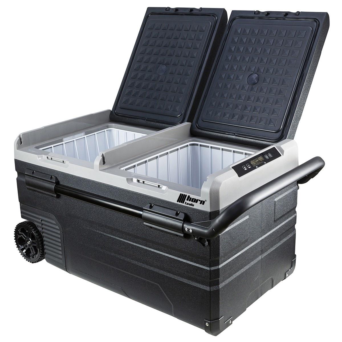 Horntools Koelbox FreezBox 75 L met wielen Compressor koelkast