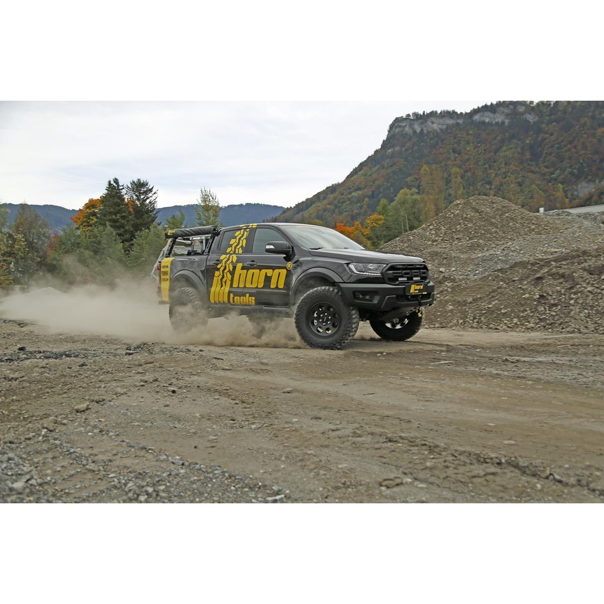 Horntools Ford Ranger PEDDERS  50MM LIFTKIT PX3 AIR Heavy Duty RV + 600kg 2019- FoamCell Camper-ophangingsset TrakRyder