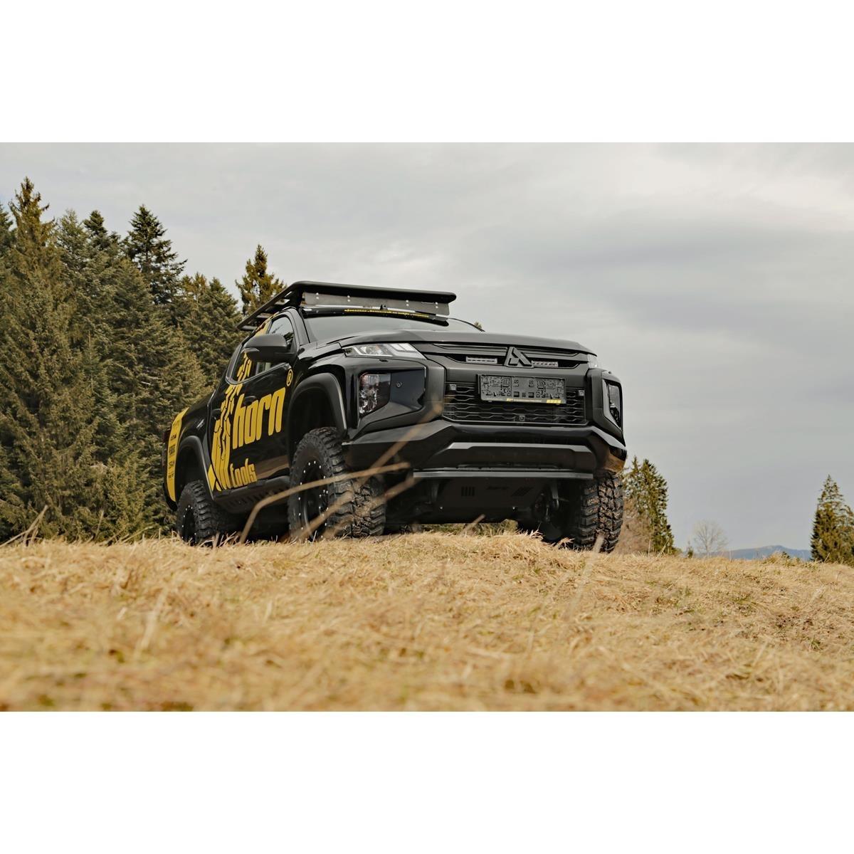 Horntools Mitsubishi L200 Pedders TrakRyder Heavy Duty FoamCell-ophangingsset + 50 mm