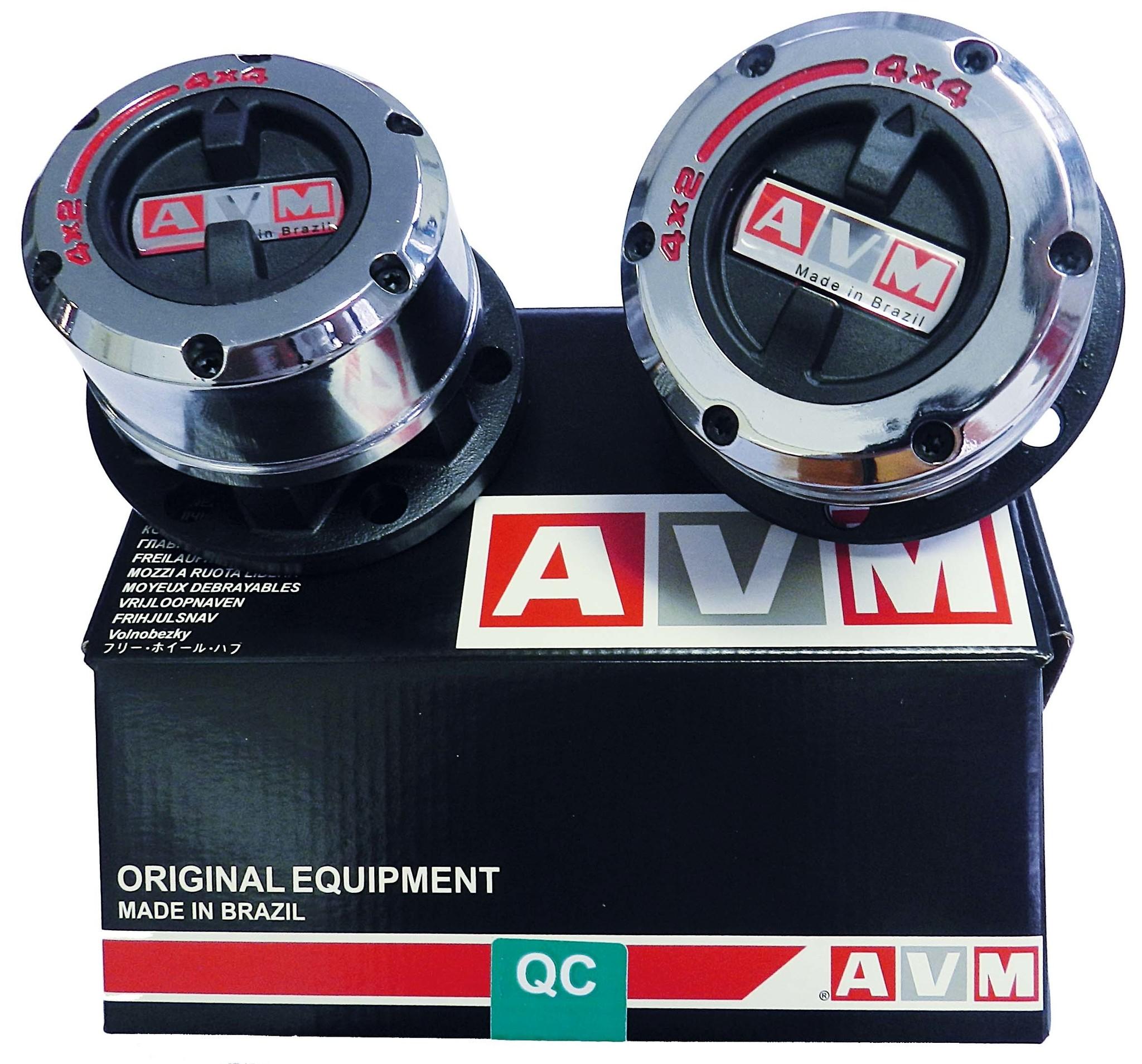 AVM KOPPELINGSHUBS - MITSU L200 92-> 05 / PAJERO K90 / MONTERO (paar)