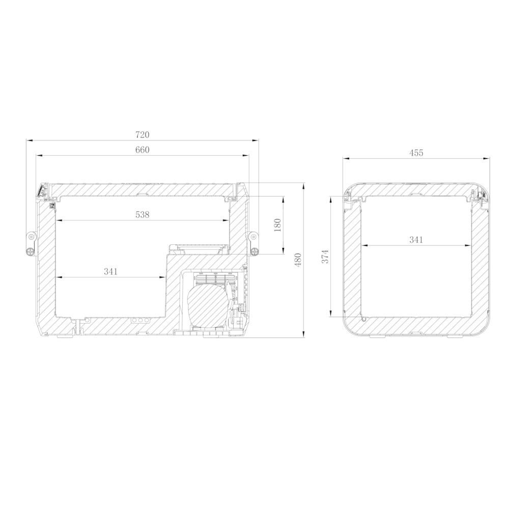 DOMETIC CFX3 55IM IJSBAK (12/24 100-240V)