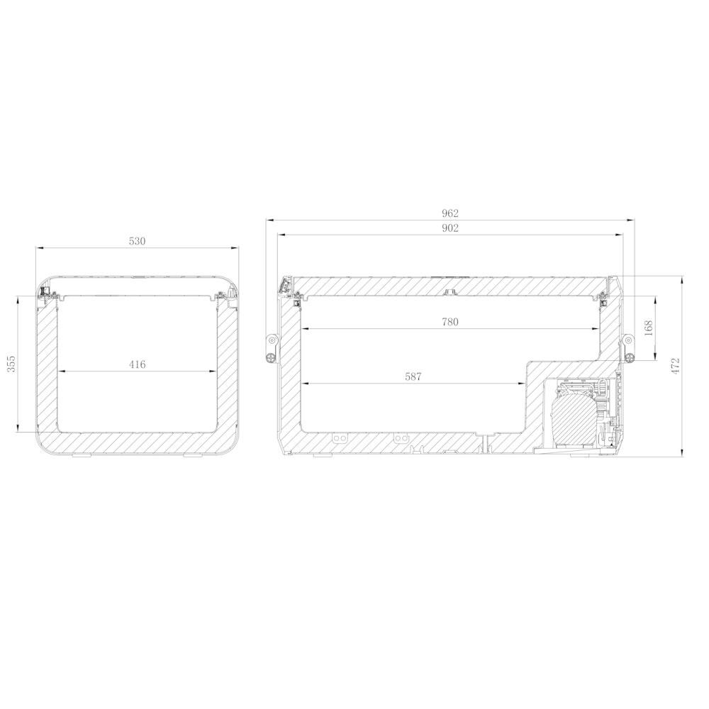 DOMETIC CFX3 100 (12/24 100-240V)