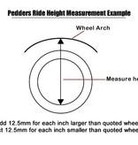 Pedders 2 Inch Lift Kit. Isuzu D-Max  2012-2017