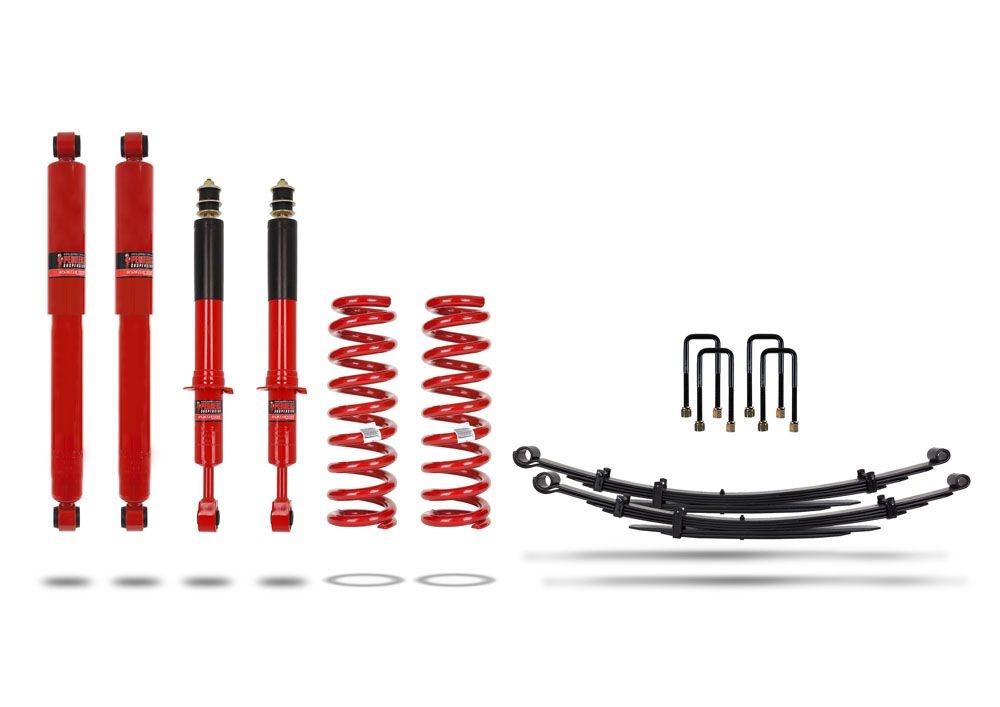 Pedders 2 Inch Suspension Lift Kit. With Assembled struts. Toyota Hilux 2015+