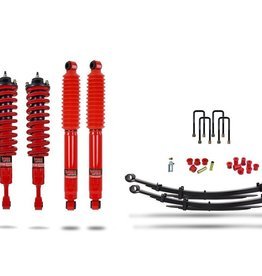 Pedders 2 Inch Suspension Lift Kit. With Improved Ride & Assembled struts. Toyota Hilux 2015+