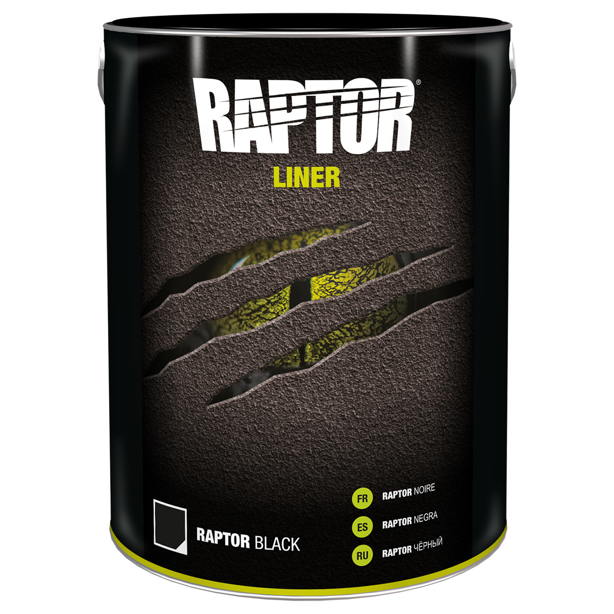 Raptor Liner RAPTOR LINER 5 LITER ZWART