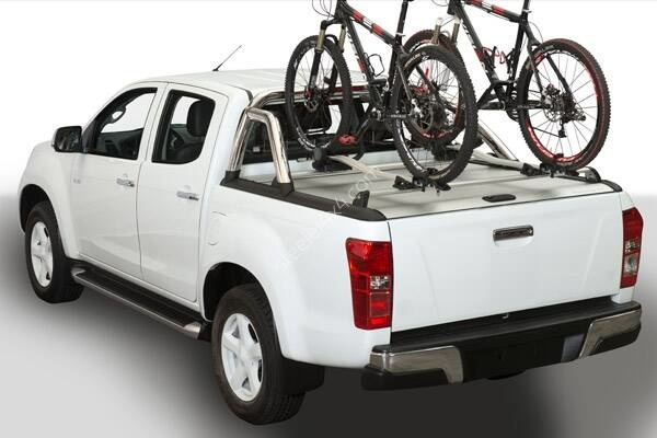 Roll-cover (MT) - one and a half cabin - Isuzu D-Max (2012 - 2017 - 2020)