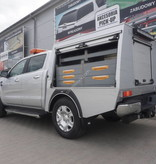 Commercial hard top - with roll-covers - Ford Ranger double cabin (2012 -)