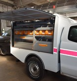 Commercial hard top - with side doors - Ford Ranger extra cabin (2012 -)