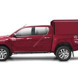 Aluminium technical canopy - with side doors - Ford Ranger double cabin (2012 -)