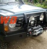Nissan Patrol Y60 Winchbumper High Profile met koplampbescherming