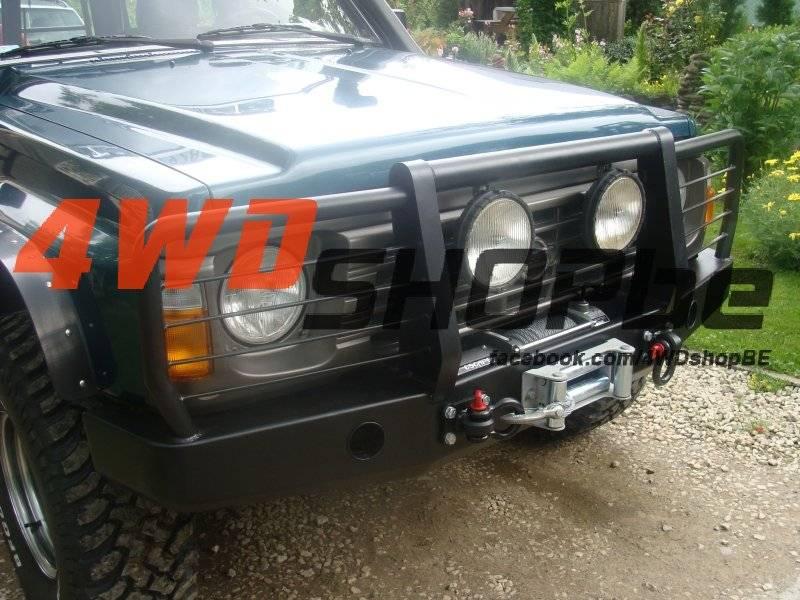 Rye 4x4 Nissan Patrol Y60 Winchbumper High Profile met koplampbescherming