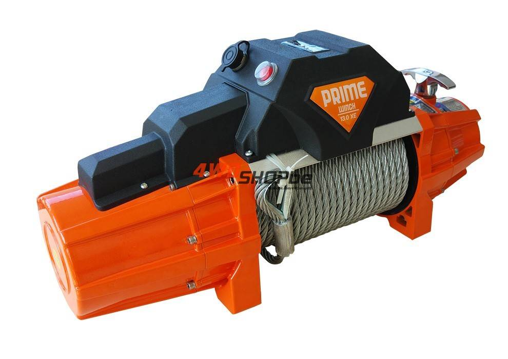 Prime Winch 13.0 XE 1300 Lbs (5897kg) STEEL CABLE / STAAL KABEL