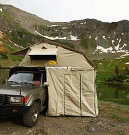 Eezi Awn Xklusive 1400 ROOFTOP TENT. 1440 X 2440 X 1300 ADD ON ROOM