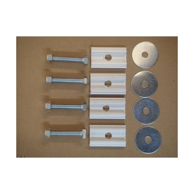TENT MOUNTING KIT (SET OF 4 SLIDERS WITH BOLTS)