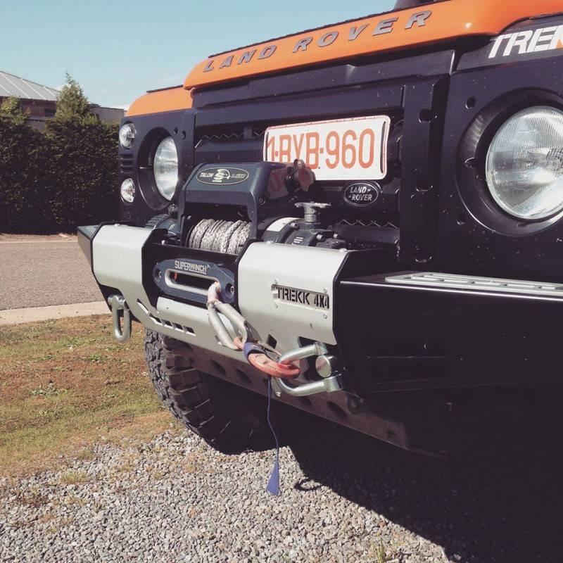 Trekk 4x4 Front Winch Bumper Land Rover Defender